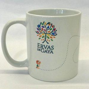 Xícara de porcelana Gratidão